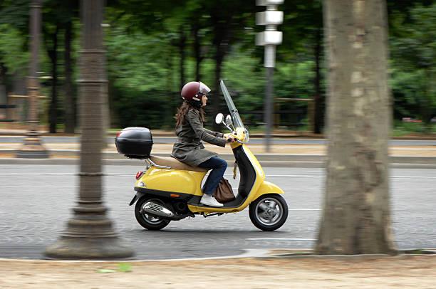 De elektrische scooter